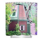 Windmill - Photopower 1557 Shower Curtain