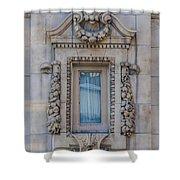 Window Across The Street Shower Curtain