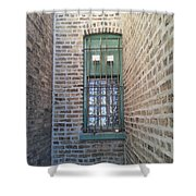Window Against The Wall Shower Curtain