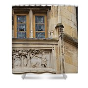 Window And Relief Palace Ducal Shower Curtain
