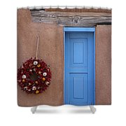 Window And Ristra Shower Curtain