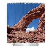 Window Arch Shower Curtain