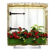 Window Box 2 Shower Curtain