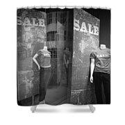 Window Display Sale With Mannequins No.1292 Shower Curtain