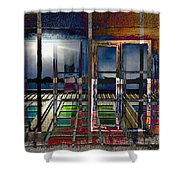 Window Dreaming Shower Curtain