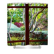 Window Garden Shower Curtain