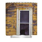 Window In Abandoned House Shower Curtain by Jill Battaglia