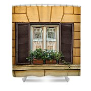 Window In Rome Shower Curtain