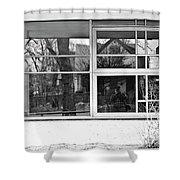 Window In Window Shower Curtain