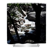 Window Into Time Shower Curtain