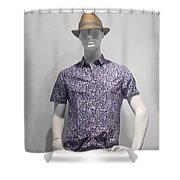 Window Mannequin 5 Shower Curtain