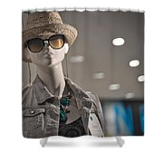 Window Mannequin 7 Shower Curtain