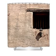 Window Of God Shower Curtain