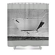 Window Of The Wall Shower Curtain