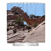 Window Rock 2 Shower Curtain