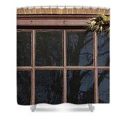 Window Swag In Williamsburg Shower Curtain