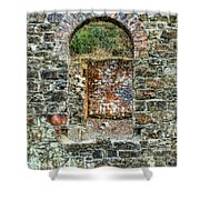 Window To A Bygone Heritage Shower Curtain