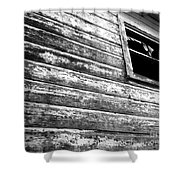 Window To Another Era Shower Curtain