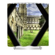 Window To The Past Shower Curtain