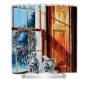 Window Treasures Shower Curtain
