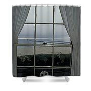Window View Shower Curtain