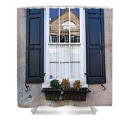 Window X Shower Curtain
