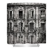 Windows And Balconies 1 Shower Curtain