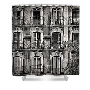 Windows And Balconies 2 Shower Curtain