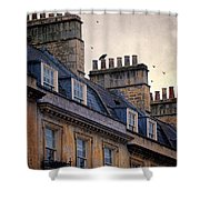 Windows And Chimneys Shower Curtain