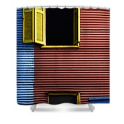 Windows And Doors Buenos Aires 16 Shower Curtain