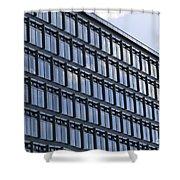 Windows In Copenhagen Shower Curtain