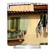 Windows, Italy Shower Curtain