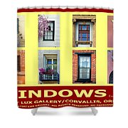 Windows Of Opportunity Shower Curtain