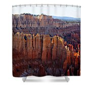 Windows Of Rock Shower Curtain