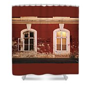 Windows To Souls Shower Curtain