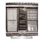 Windows To Valentown Shower Curtain