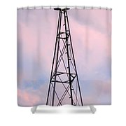 Windpump Shower Curtain