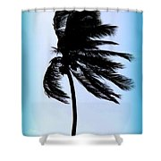 Winds Of Blue Shower Curtain