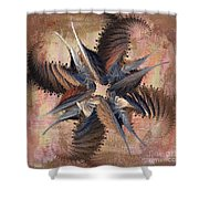 Winds Of Change Shower Curtain by Deborah Benoit