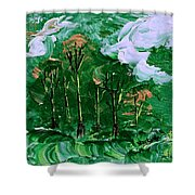Winds Of Destiny Shower Curtain