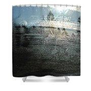 Windshield Work Shower Curtain