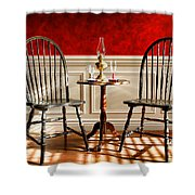 Windsor Chairs Shower Curtain