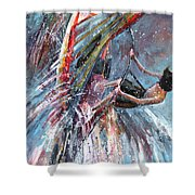 Windsurf 03 Shower Curtain