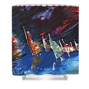 Windsurf Impression 05 Shower Curtain