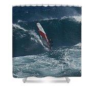 Windsurfer 2 Maui Shower Curtain