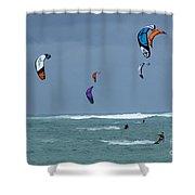 Windsurfing Hawaii Shower Curtain