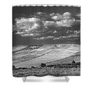 Windy At The Cereal Fields Shower Curtain