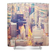 Windy City Lights - Chicago Shower Curtain