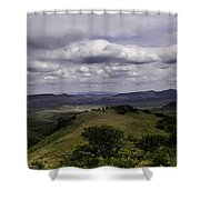 Windy Gap Looking East 2 Shower Curtain