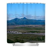 Windy Ridge View Shower Curtain